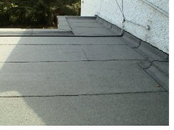 Older House and Flat Roofs