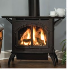 Heating Your House With A Cast Iron Stove